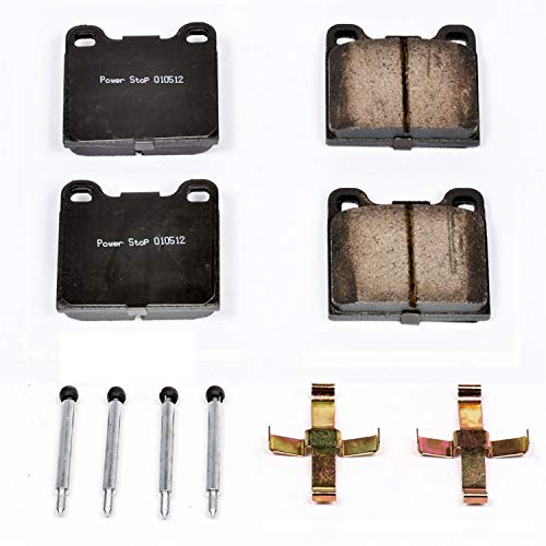 (Power Stop 17-031, Z17 Evolution Ceramic Rear Brake Pads)