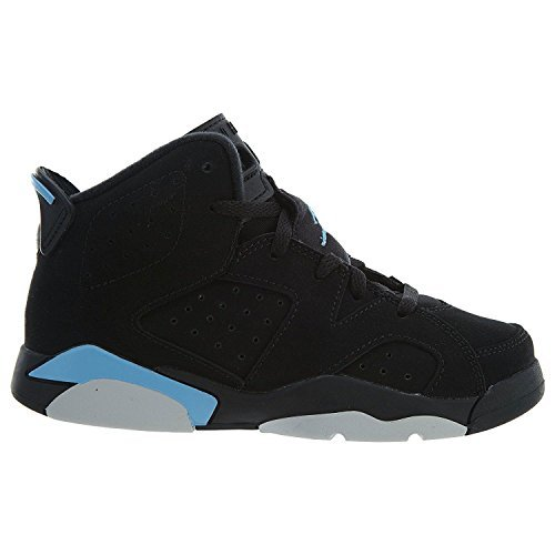 Jordan Nike Air 6 Retro BP Kids Black/Blue 384666-006 (Size: 11C) by Jordan