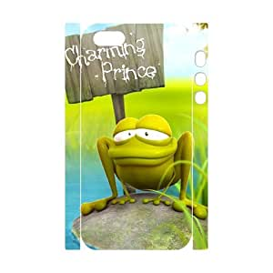 3D 3D frog vision Samsung Galaxy Note 2 Case White