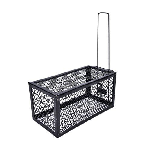 Tos-sa-gun Small Animal Humane Live Cage Black (Rat Zapper Battery Pack)