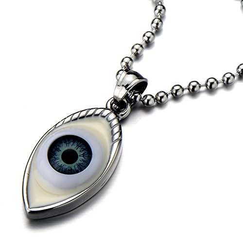 Protection Pendant Necklace Stainless Inches