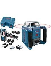 Bosch Professional rotationslaser GRL 400 H (knappsats med en knapp, arbetsområde: upp till 400m (diameter), i förvaringsväska)