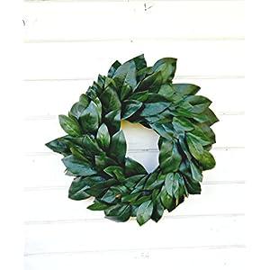 Magnolia Wreath, Farmhouse Wreath,Winter Wreath,Spring Wreath,Summer Wreath, Farmhouse Home Decor, Housewarming Gift, Door Wreaths,Fixer Upper Decor, Christmas Wreath, Housewarming Gift 6