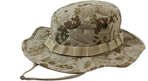 Genuine Issue Hat, Boonie GI USMC, Desert MarPat, New, Size 7.25 - M