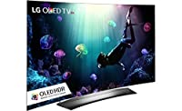 """LG Electronics OLED55C6P 55"""" Smart OLED 4K HDR Ultra HD CURVED TV with 3D (2016 MODEL) by LG"""