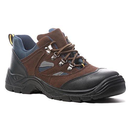Segur Marrón 42 S1p Zapatos Baja De T Copper npv1W8q