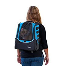 Pet Gear I-Go2 Escort Roller Backpack for Cats and Dogs up to 15-Pounds, Ocean Blue