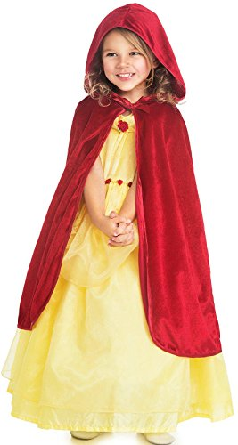 Little Adventures Child Cloak Costume(Red,L/XL (5-9 Years)) -