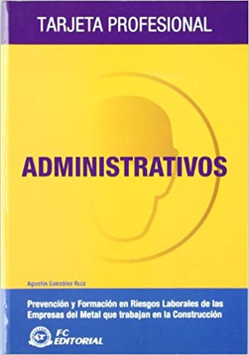 Administrativos: Tarjeta profesional Metal - Construcción: Amazon ...