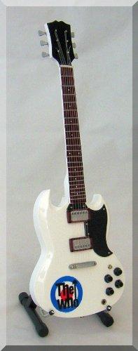 PETE TOWNSHEND Miniature Guitar The WHO white