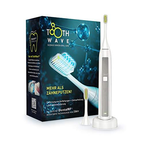 Silk'n Toothwave Elektrische Zahnbürste, patentierte RF Dental Technologie gegen Verfärbungen und Zahnstein