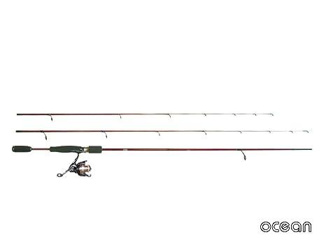 ocean(オーシャン)メバリング、アジングロッドRockMasterTWIN7'0/7'6&リールセット(oc750)の画像