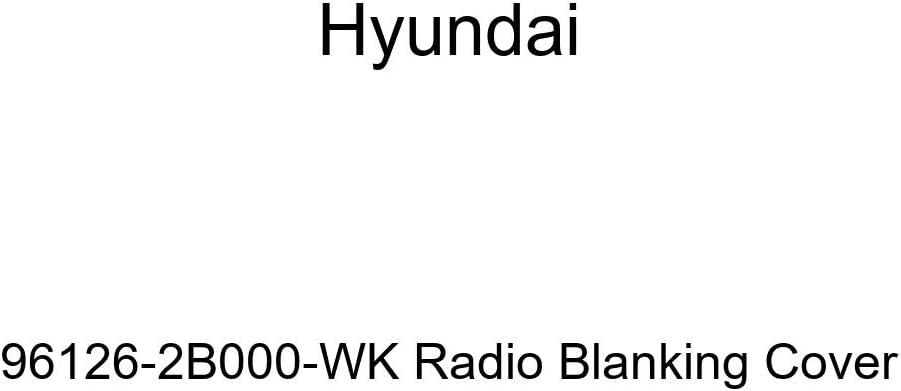 HYUNDAI Genuine 96126-2B000-CA Radio Blanking Cover