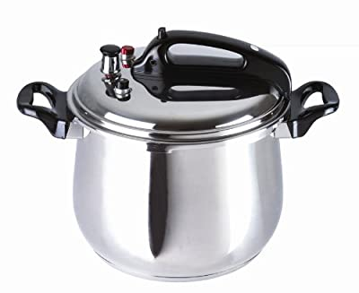BC Classics BC-33870 Stainless Steel Pressure Cooker, 9.5-Quart from MBR INDUSTRIES