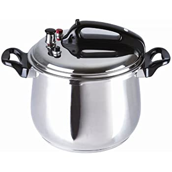 BC Classics BC-33870 Stainless Steel Pressure Cooker, 9.5-Quart