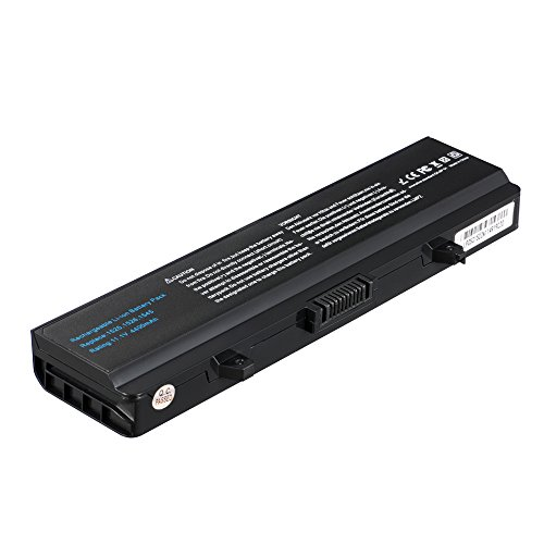 LIBOWER Laptop Battery for Dell Inspiron 15 1525 1526 1545 Series for Dell Notebook C601H D608H GW240 HP297 M911G RN873 XR693 11.1V 4400mAh 6Cells Li-ion (Black)