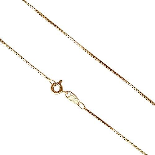 Collier Chaîne Unoaerre en or jaune 18carats 750/000-gr. 3,00Vénitienne-18Carat/750Gold Chain Necklace 3,00grams