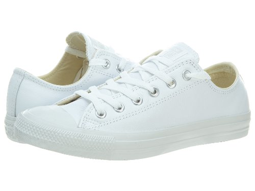 Converse Ct A/S Lea Ox Mens Style: 1T866-wh/O Size: Mens 7.5 Womens 9.5