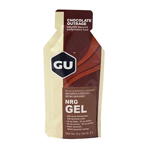 Chocolate Outrage GU NRG gel, 32 g
