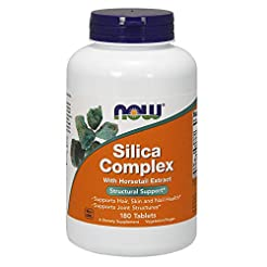 Now Supplements, Silica Complex with Hor...