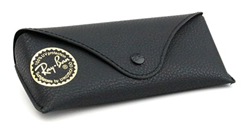 Ray Ban Black Textured Leather Like Thin Case, Case Only