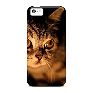 meilz aiaiFor iphone 5/5s Premium Cases Covers Animals Cats Cat In The Night Protective Casesmeilz aiai
