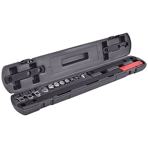 16PC Ratcheting Wrench Serpentine Belt Tool Kit Automotive Repair Set Sockets (Hex Band Saw)