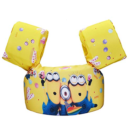 (CONHENCI Swim Aid Puddle Jumper Life Jacket Floaties for Toddlers)