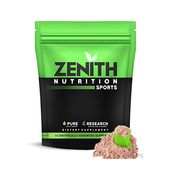Zenith Nutrition Mass Gainer++ with Enzyme blend | 17gm Protein | 51gm Carbs | Added Glutamine | Lab tested (Double Rich