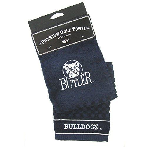 【メーカー直送】 NCAA Butler NCAA Bulldogs B07945PBP3 刺繍入りゴルフタオル Butler B07945PBP3, アップデート:2648a64a --- a0267596.xsph.ru