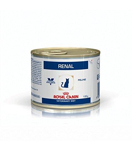 Royal Canin - ROYAL CANIN Veterinary Diet Feline Renal - 195 g: Amazon.es: Alimentación y bebidas