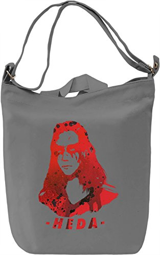 Heda Leksa Kom Trikru Borsa Giornaliera Canvas Canvas Day Bag| 100% Premium Cotton Canvas| DTG Printing|