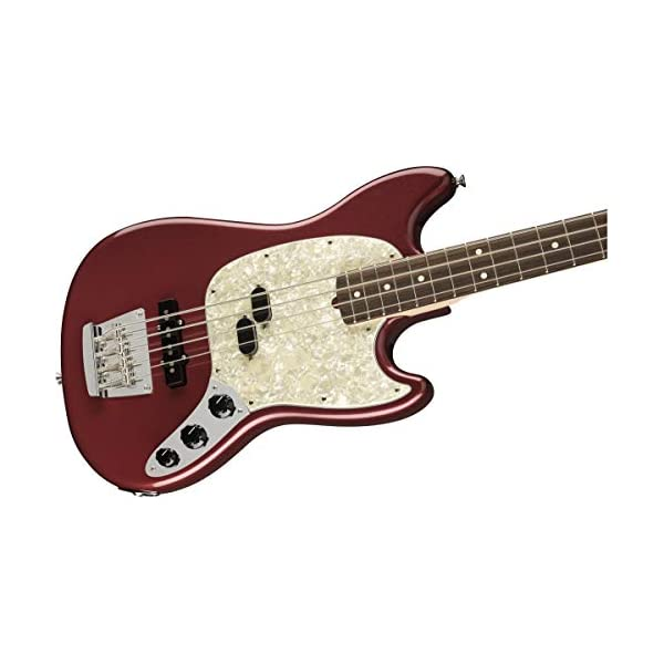 American Performer Mustang Bass RW (Aubergine)