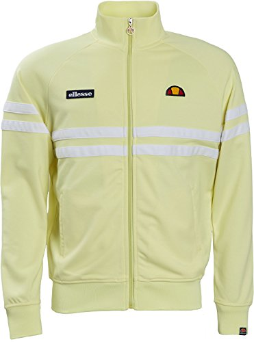 Ellesse Tennis Apparel - ellesse Track Jacket Rimini Track Top, Size:M, Color Tender Yellow