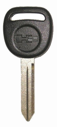 NEW HUMMER H2 Factory Original UNCUT Logo Key Blank Made in the USA 15079519