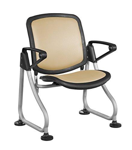 (OFM K212-PEACH-SLV ReadyLink Row Starter Chair)