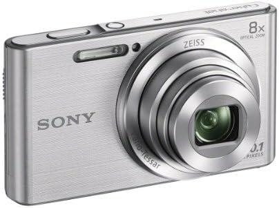 Sony DSCW830 20.1 MP Digital Camera with 2.7-Inch LCD (Silver) 41Sv OlECQL