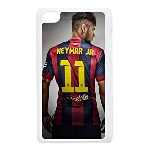 iPod Touch 4 Case White Neymar QSS Cell Phone Case Customized Hard