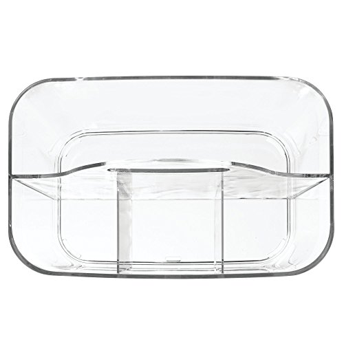 InterDesign Clarity Cutlery Flatware Caddy, Silverware, Utensil, and Napkin Holder - Clear by InterDesign (Image #5)