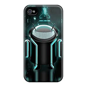 Bernardrmop Case Cover Protector Specially Made For Iphone 4/4s Android Tron Edition Kimberly Kurzendoerfer