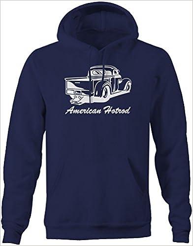 Medium Pike Outdoors American Hotrod Pickup Truck Wheelie Bar Drag Racing Sweatshirt