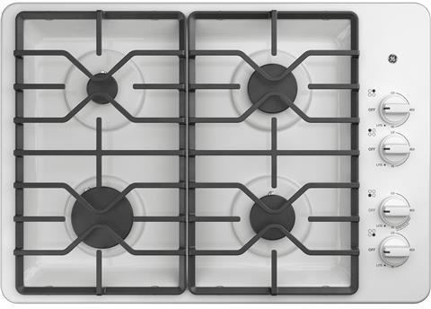 gas cooktop 30 white - 5