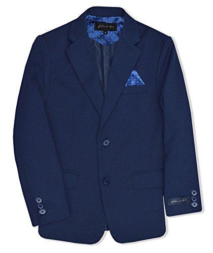Dress Up Boys' Blazer Jacket #JL30 (7, Royal) (Blazer Boys)