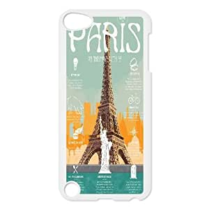 ZK-SXH - Lets Move to Paris Diy Cell Phone Case for iPod Touch 5,Lets Move to Paris Personalized Case