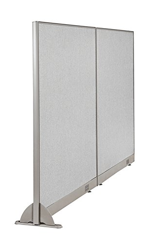 GOF Wall Mounted Office Partition, 84W x 60H / Office Panel, Room Divider (84W x 60H) by GOF