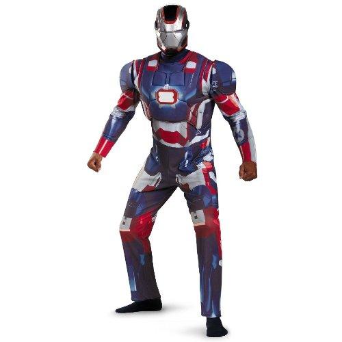 Iron Patriot Deluxe Plus Adult Costume XXL
