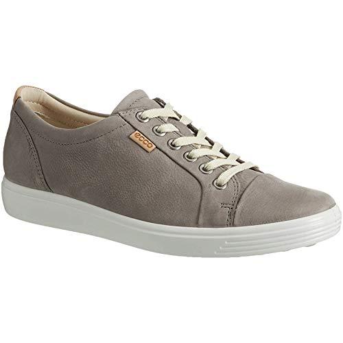 ECCO Women's Soft 7 Fashion Sneaker, Warm Grey, 37 EU / 6-6.5 US from ECCO