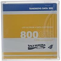 Tandberg Data LTO Ultrium 4 Storage Media Tape Cartridge (433781)