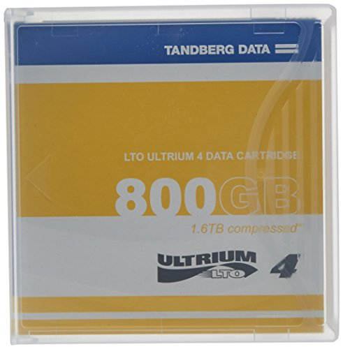 TANDBERG DATA LTO Ultrium 4 Storage Media Tape Cartridge (433781) by TANDBERG DATA