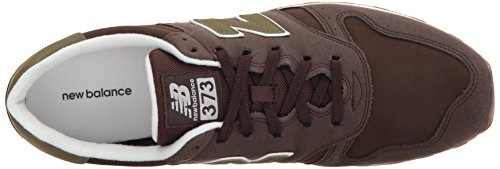 373 brown V1 Sneaker New Marrone green Balance Uomo F4qav5w